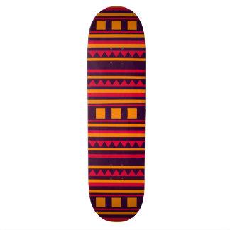 Quilt pattern skateboard