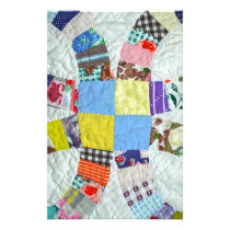Quilt pattern stationery