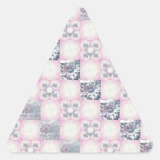 Quilt Pattern Triangle Sticker
