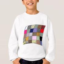 Quilt Pattern Sweatshirt