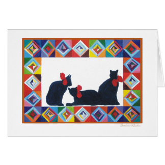 Quilt series #2 greeting cards