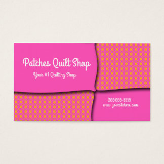 Quilt Sewing Style Business cards