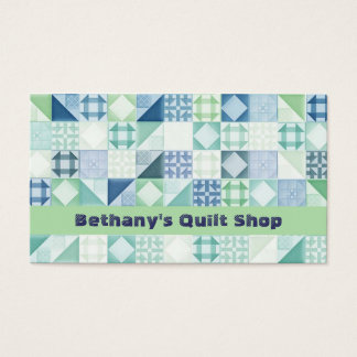 Quilt Shop Business Cards