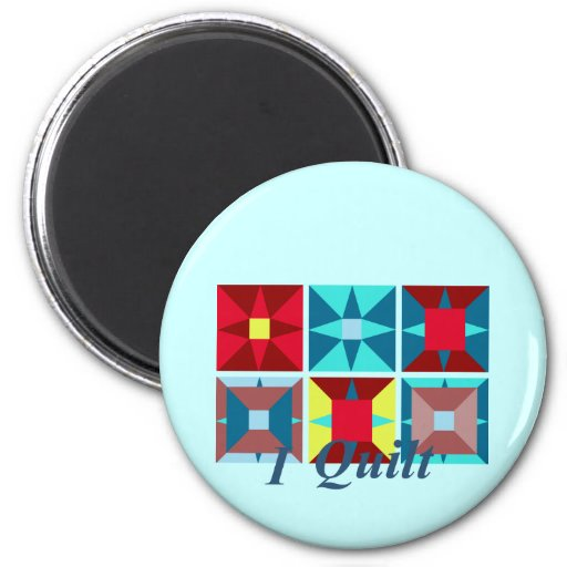 Quilt Squares Magnet