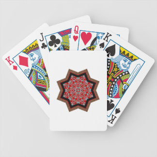 Quilt Star 1 Bicycle Card Deck