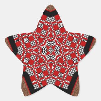 Quilt Star #1 Star Sticker