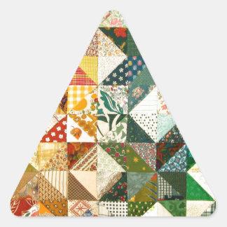 Quilt Triangle Sticker