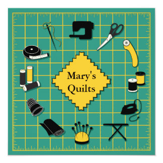 Quilt Time Customiz the Label Card