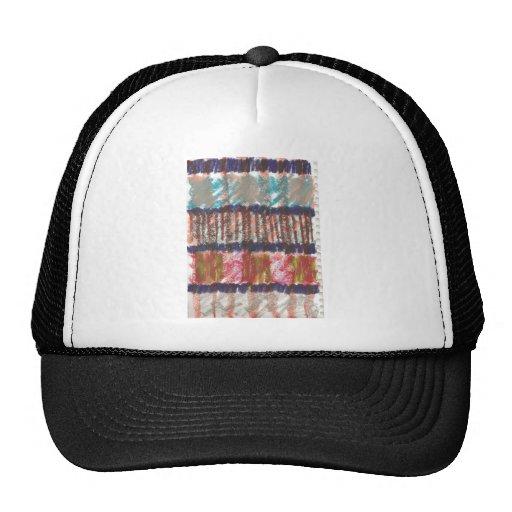 quilt trucker hat