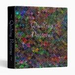 Quilt Vinyl Binder