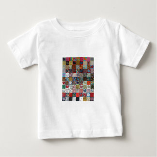 quilt with hearts baby T-Shirt