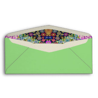 Quilted Abstract Envelopes