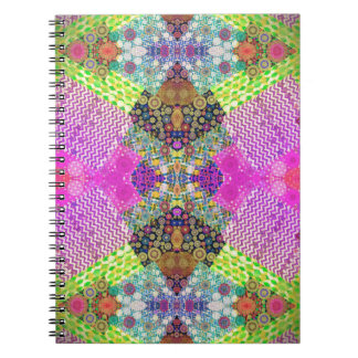 Quilted Abstract Note Book