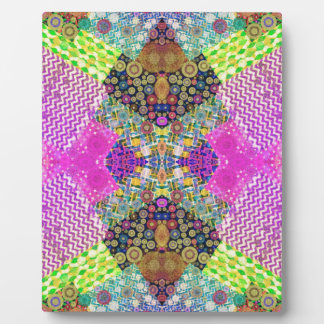 Quilted Abstract Display Plaque