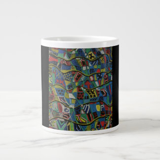 Quilted Abstraction Mug