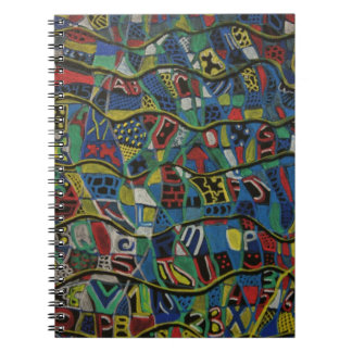 Quilted Abstraction Notebook