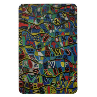 Quilted Abstraction Premium Magnet