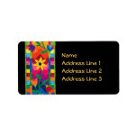 Quilted Address Labels