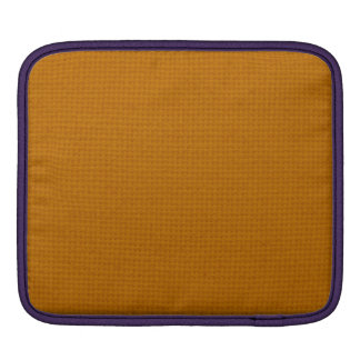 Quilted Burnt Orange iPad Sleeves