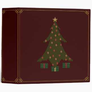 Quilted Christmas Binder
