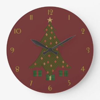 Quilted Christmas Clock