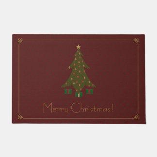 Christmas Doormats & Welcome Mats | Zazzle