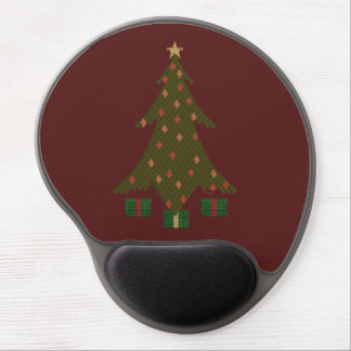 Quilted Christmas Gel Mousepad