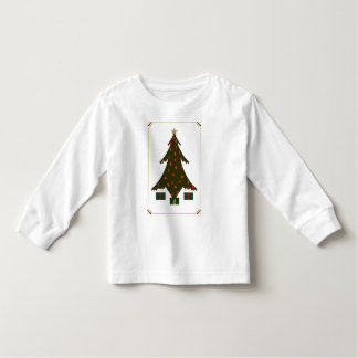 Quilted Christmas Kid's and Baby Light Shirt