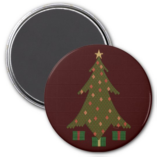 Quilted Christmas Magnet