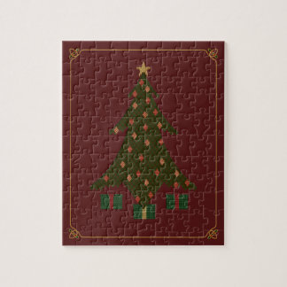 Quilted Christmas Puzzle
