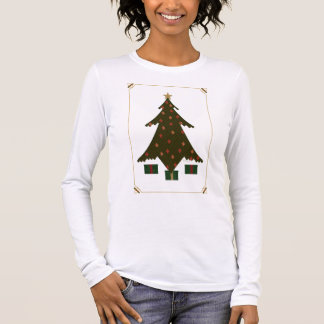 Quilted Christmas Women's Light Shirt