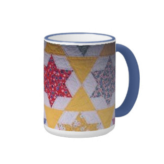 Quilted Coffee Ringer Mug