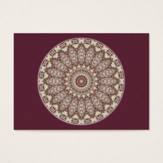 Quilted Comfort Mandala - Artist Trading Card ACEO