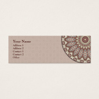 Quilted Comfort Mandala - Profile Business Card