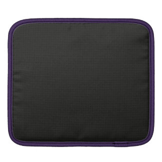 Quilted Cosmic Black Sleeve For iPads
