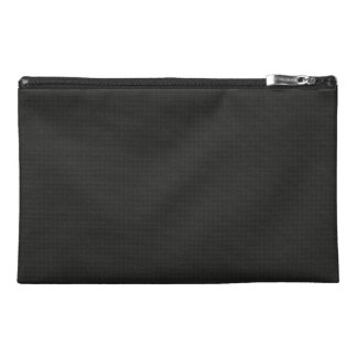 Quilted Cosmic Black Travel Accessories Bags