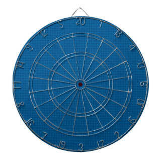 Quilted Deep Ocean Blue Dart Board