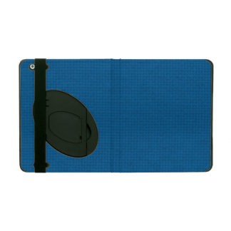 Quilted Deep Ocean Blue iPad Cases