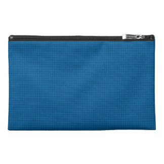 Quilted Deep Ocean Blue Travel Accessories Bags