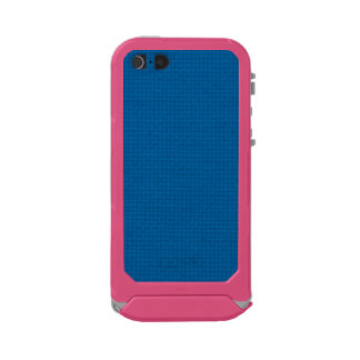 Quilted Deep Ocean Blue Waterproof Case For iPhone SE/5/5s
