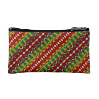 Quilted Diamonds Customizable Cosmetic Bag