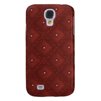 Quilted Diamonds Red Galaxy S4 Case