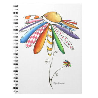 Quilted Dream Flower Notebook