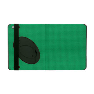 Quilted Emerald iPad Cover