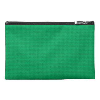 Quilted Emerald Travel Accessory Bags