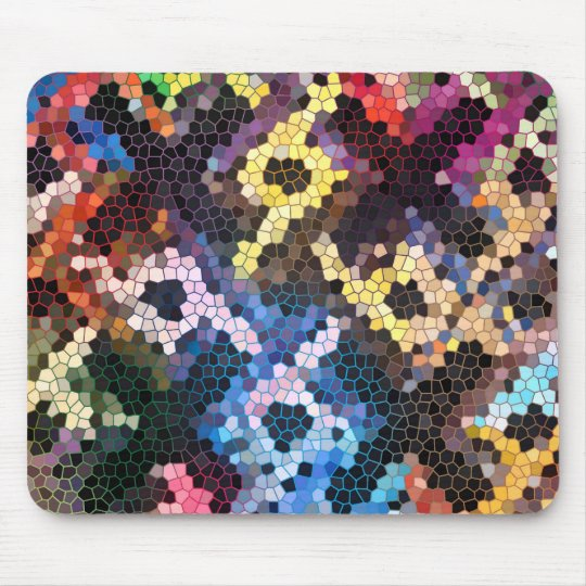 Quilted Glass Mouse Pad