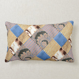 Quilted Gold Pillows