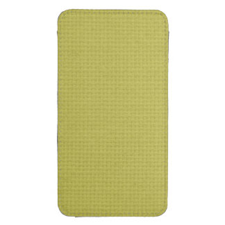 Quilted Golden Galaxy S4 Pouch