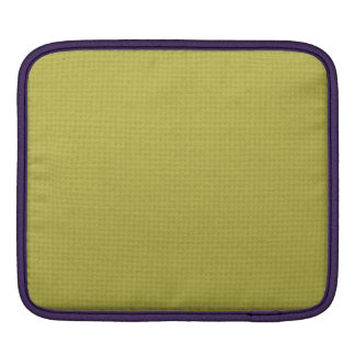 Quilted Golden iPad Sleeve