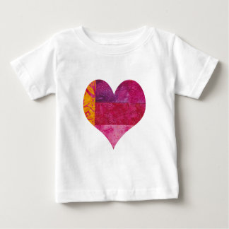 Quilted Heart Baby T-Shirt